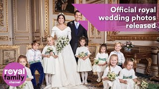 Download Video Official royal wedding photos of Princess Eugenie and Jack Brooksbank MP3 3GP MP4