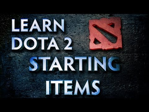 Learn Dota 2 - Starting Items