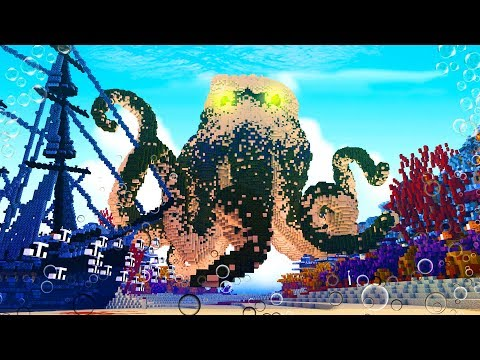 Minecraft | KRAKEN OUT OF NOWHERE! (Spawn Egg Tries To Kill Me!)