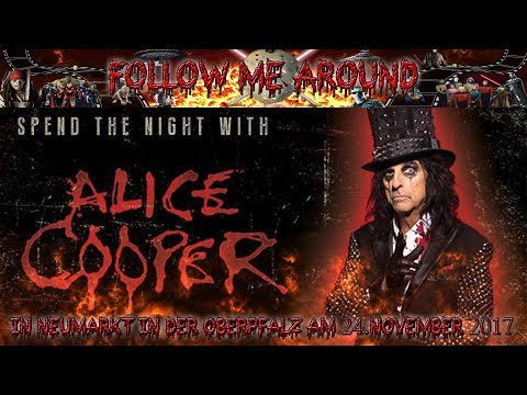 Alice Cooper - Spend the Night with Alice Cooper - Tour in Neumarkt i.d. OPF am 24.11.2017