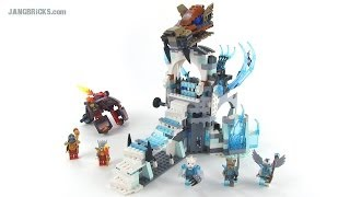 Lego Chima 70147 Sir Fangar's Ice Fortress Review! Summer 2014