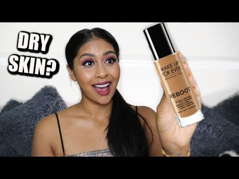 NEW MAKE UP FOR EVER REBOOT FOUNDATION ... IS IT GIVING ME GLOWLY MODEL SKIN?! thumbnail