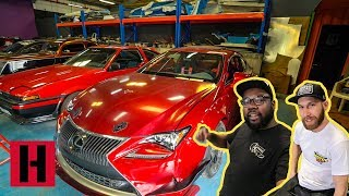 Sultan's Drift Car Collection Tour! The Unprofessionals Do Dubai
