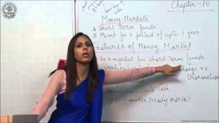 Features of Money Market Class XII Business Studies by Dr Heena Rana