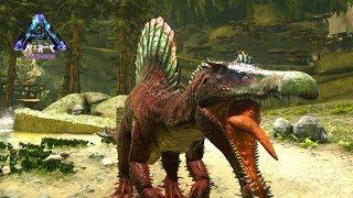 巨大肉食恐竜 スピノサウルスの変種を捕獲せよ! - ARK Aberration ゆっくり実況 #6