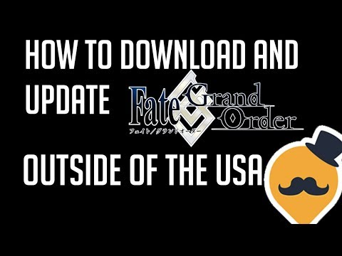 How To: Get Fate Grand Order ENGLISH Outside The US! (QooAPP Tutorial)