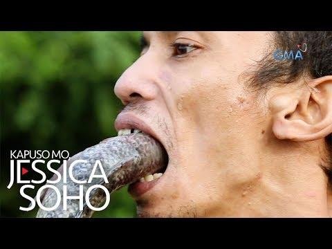 Kapuso Mo, Jessica Soho: Lalaki, nakalunok ng buhay na isda!