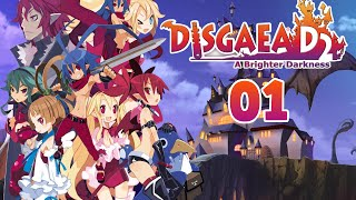 Let's Play Disgaea D2: A Brighter Darkness - Part 1