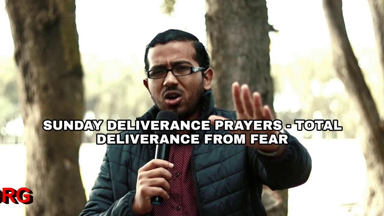 DELIVERANCE FROM FEAR, Sunday Deliverance Prayers with Evangelist Gabriel Fernandes