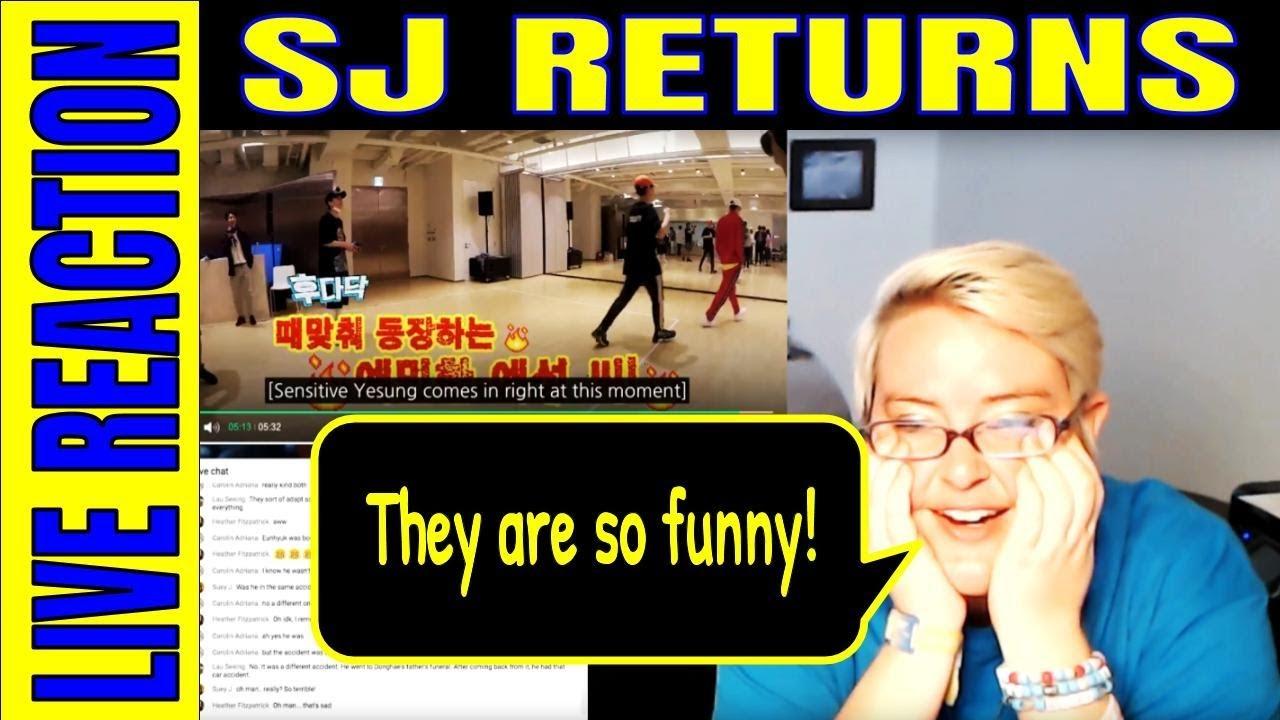 SJ Returns Part 3 LIVE Reaction: Ep  31-40