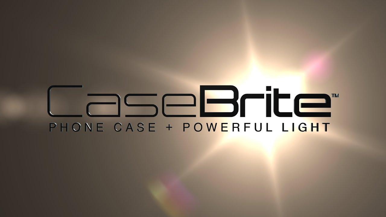 finest selection 3b641 53ada CaseBrite by NEBO is Now in White - Very Protective iPhone Case with Bright  LED Flashlight