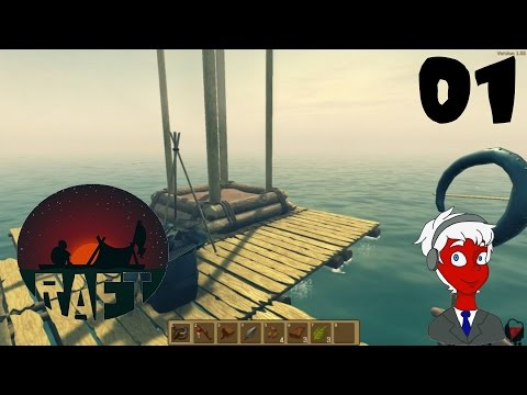 Floating Alone | Raft Gameplay | Episode 1