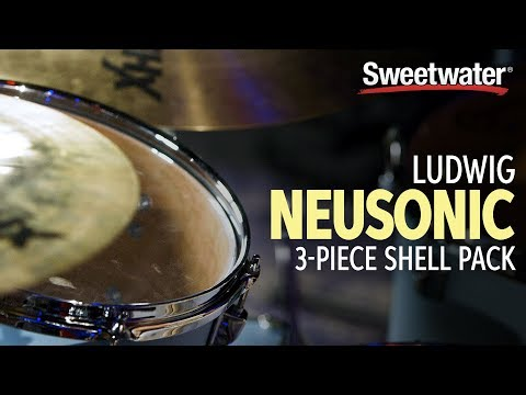 Ludwig Neusonic 3-Piece Shell Pack Demo