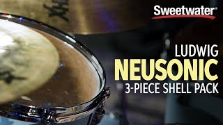 Ludwig Neusonic 3-Piece Shell Pack Demo