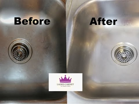 Kitchen Sink Cleaning | How to Clean a Stainless Steel Sink