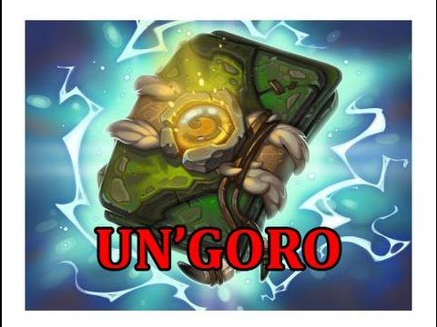 Hearthstone - Climbing the Ladder + Un'goro pack opening