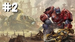 Transformers: Fall Of Cybertron PC Campaign Gameplay [Part 2/5] (Optimus Prime)