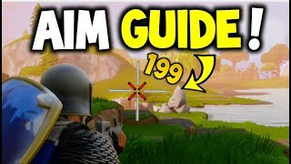 How to shoot like a PRO & never MISS - Fortnite Battle Royale (Improve Aim, Guide to help you WIN!)