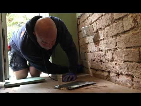 Damp Check Rod Installation