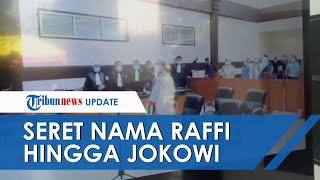 Rizieq Shihab Seret Nama Raffi Ahmad hingga Jokowi dalam Sidang, Dianggap Langgar Protokol Kesehatan