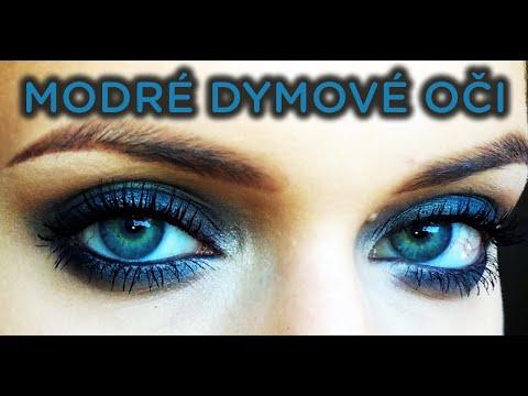 fa9cd8c6f Modré dymové oči | minútka líčenia s DANKOU #3 - YouTube