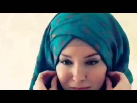 Tutorial hijab paris segi empat 2015 simpel dan mudah