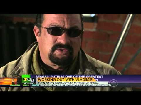 Vladimir Putin wants Russians to be as tough as actor Steven Seagal