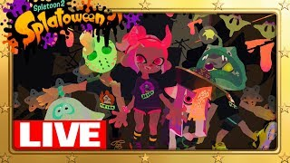 Splatoon 2's Splatowen Splatfest! Mike and I Playing For Team Trick!