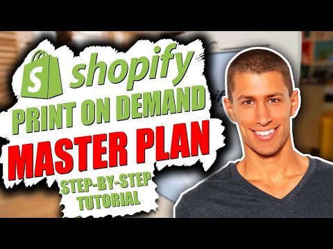 Shopify Print On Demand Step By Step Store Setup Tutorial 2019
