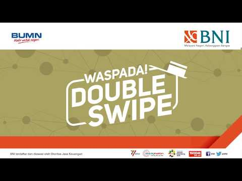 Waspada dan hindari Double Swipe Kartu Kredit BNI Anda