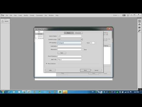Set Up Your Site Web Site in Dreamweaver CC 2014