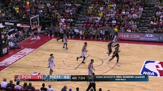 Quarter 4 One Box Video :Grizzlies Vs. Trail Blazers, 7/15/2017
