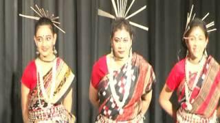 UTKALINI 2015 Annual Function: Sambalpuri Folk Dance: Dhula Pare Pare Baja