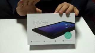 iriver ITQ700 unboxing mp3stor…