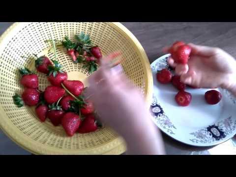 Как правильно мыть клубнику#ягоды