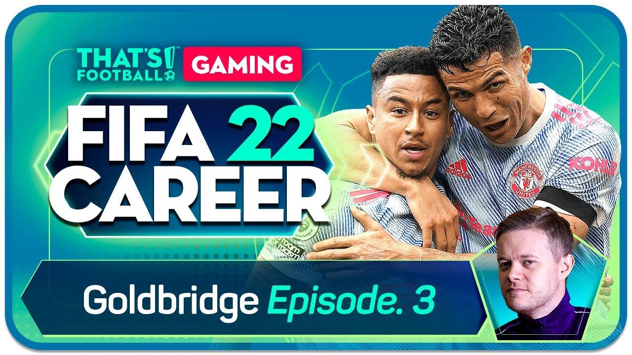 FIFA 22 Manchester United Career Mode! Goldbridge Episode 3