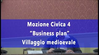 BUSINESS PLAN DEL VILLAGGIO MEDIOEVALE