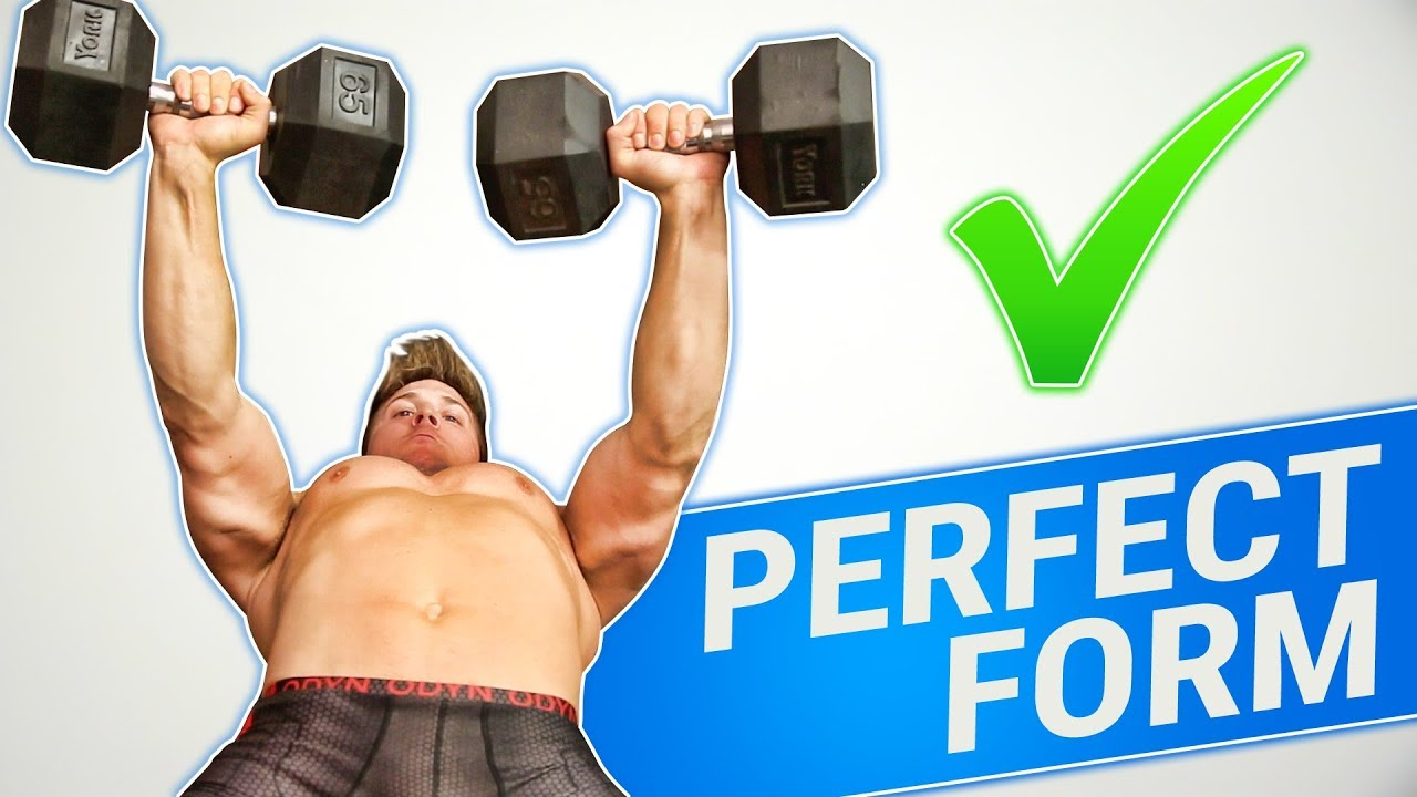 How To Dumbbell Bench Press 3 Golden Rules