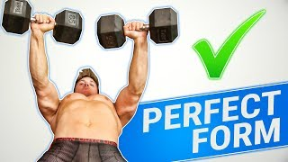 How To: Dumbbell Bench Press   3 GOLDEN RULES