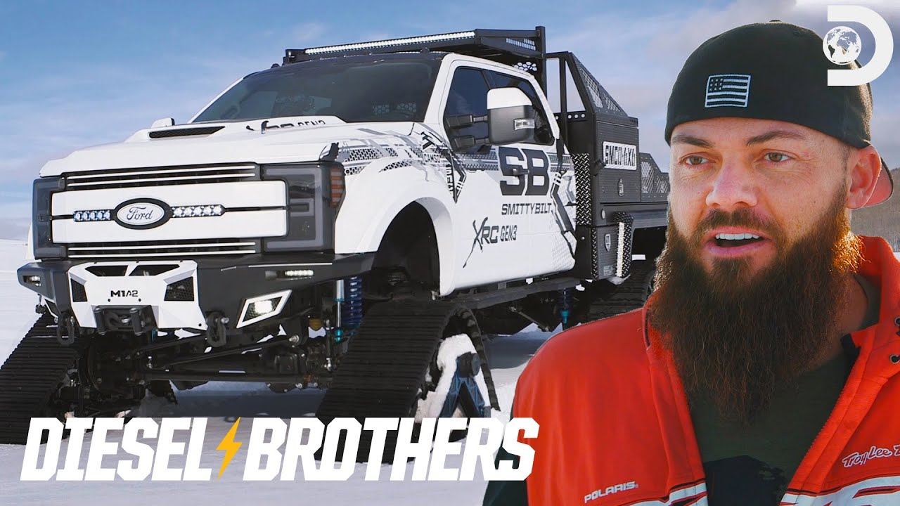 Heavy D S 6x6 With Tracks For Sema Diesel Brothers Youtube