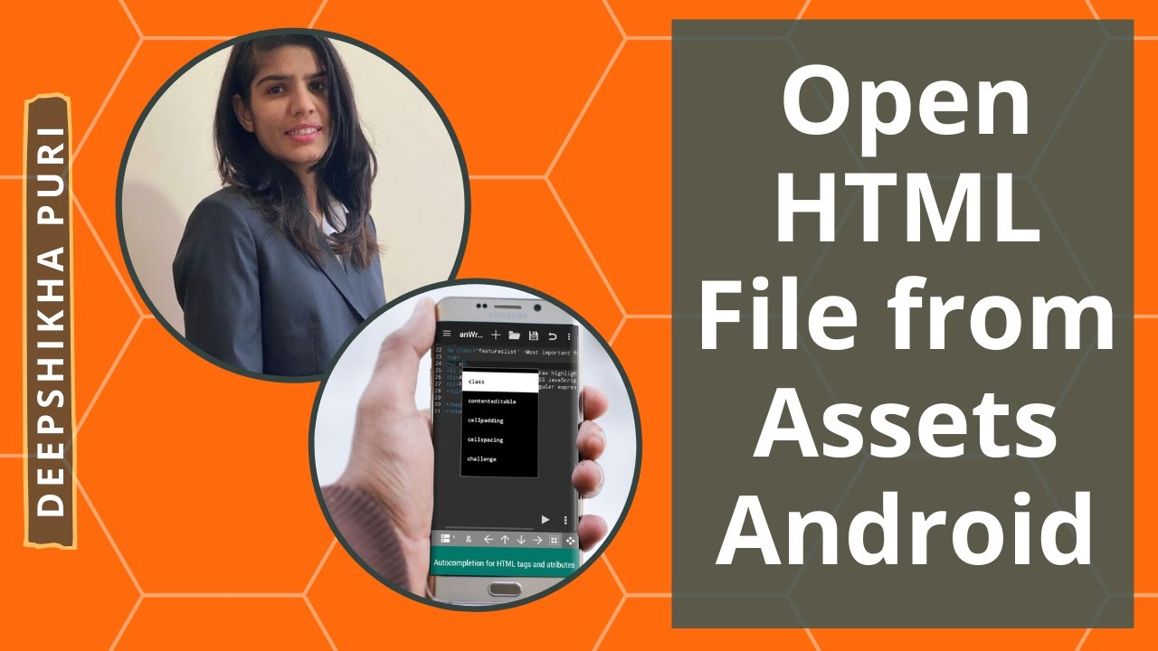 Open html file from assets android