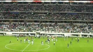 Final minute of Gold Cup soccer game Mexico / Haiti futbol Copa de Oro minutos finales