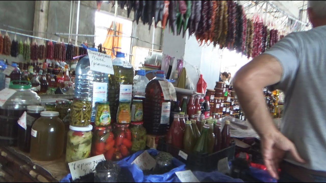 Кобулети, прогулка по центральному базару и что там есть