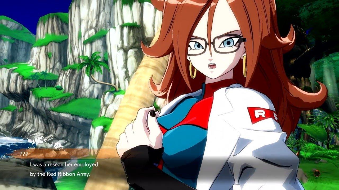 Dragon ball fighter z dbz fz novas informa es sobre a historia video android 21 youtube - Dragon ball z 21 ...