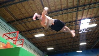 Pro Athletes at Insane Parkour Gym (Tempest)