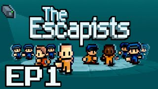 The Escapists Ep.1-Time to Escape! | Center Perks |