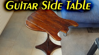 Making a Guitar Side Table // How To