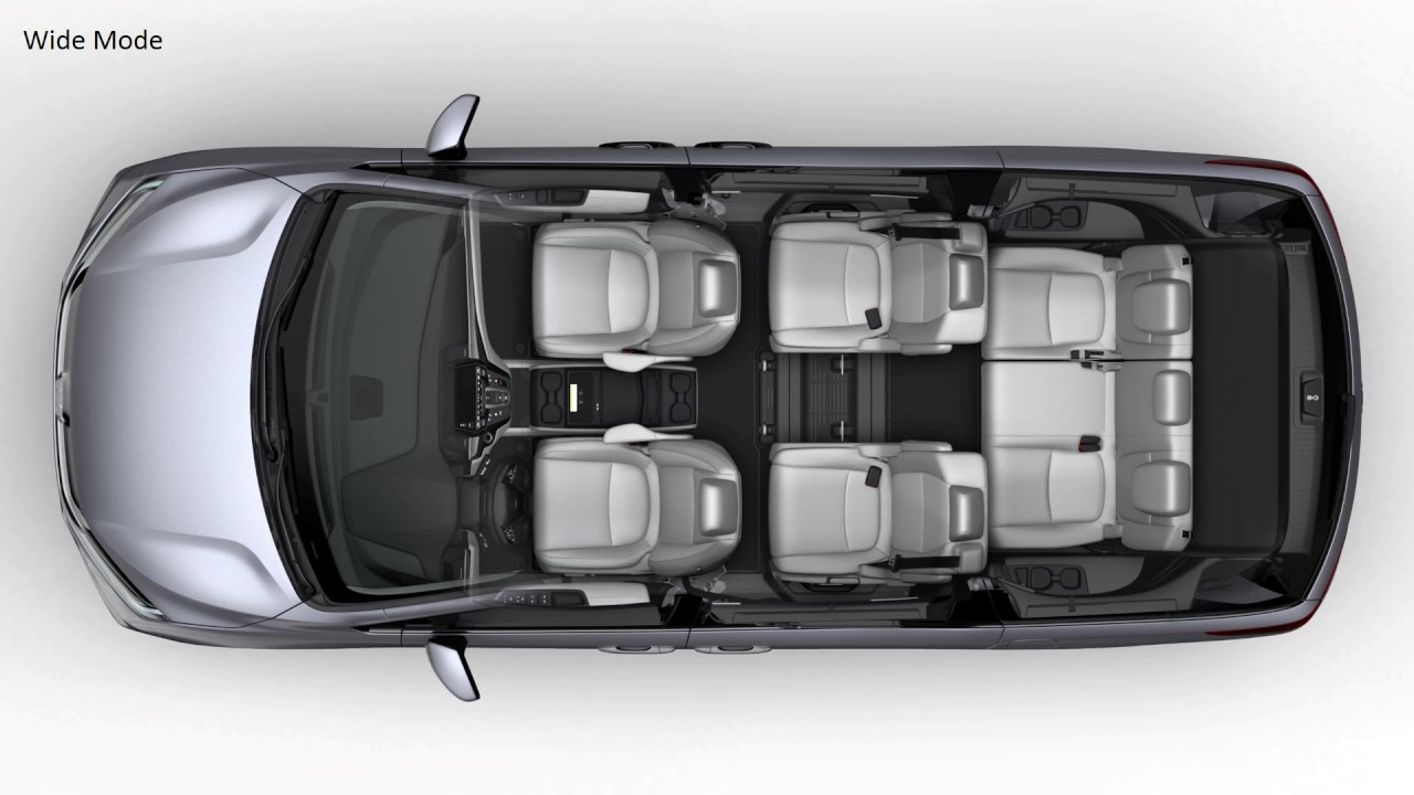2018 Honda Odyssey Seat Configuration Youtube