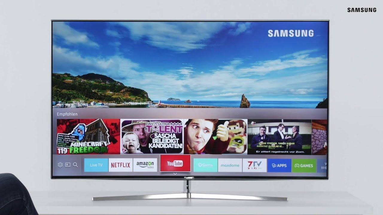 Samsung SUHD TV 2016: Der neue Smart Hub