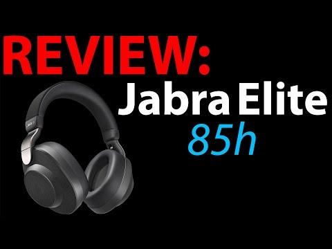 Jabra Elite 85h Wireless Noise Cancelling Bluetooth Headphones Review + Sony WH-1000XM3 Comparison